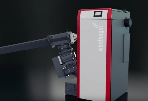 Windhager PuroWIN Hackgutvergaser – Zero Emission Vergaser mit Edelstahl-Brenner